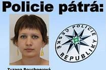 Pohřešovaná Zuzana Bouchnerová.