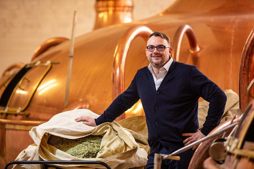 Ředitel pivovaru Petr Dvořák.