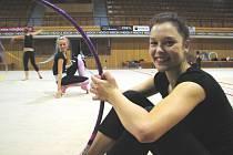 Dominika Červenková se po zdravotní pauze a vrací ke gymnastice.