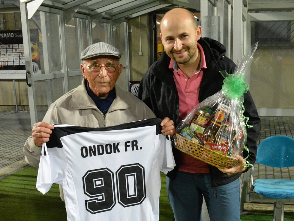 František Ondok slaví devadesátku.
