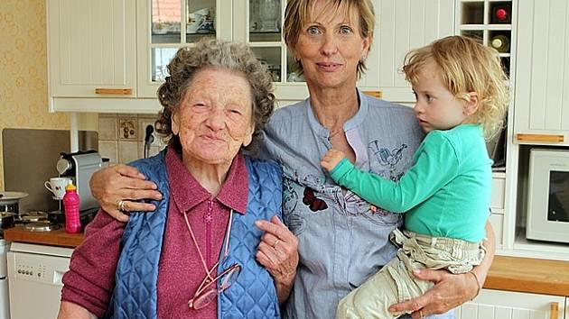 Největším bohatstvím Marie Kyselové je její početná rodina.