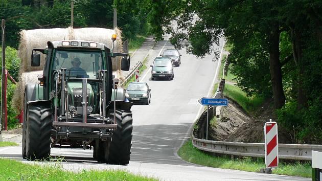 Uzavírka potrvá podle zástupců Správy a údržby silnic Jihočeského kraje do poloviny září.