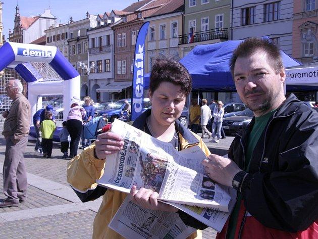 Den s denikem v Českých Budějovicích