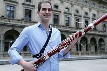 Fagotista Jan Hudeček, rodák z Českých Budějovic, zvítězil v soutěži Pražského jara v oboru fagot.