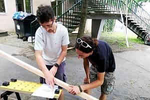 Letní kino Háječek zvelebili dobrovolníci.