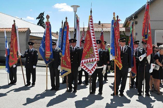 S neplachovskými hasiči slavili 120 let od založení sboru i jejich kolegové z okolí.