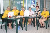 """Akce u příležitosti evropského dne """"Breast Health Day""""."""