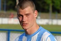 Jan Stoszek se v průběhu jarní části sezony prosadil do kádru druholigového Táborska.