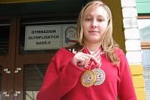 Michaela Musilová z Radostic na ME skvělým způsobem reprezentovala GON Č. Budějovice. Studentka třídy 4S třídní učitelky Kotilové sbírala řadu gratulací i od spolužáků.