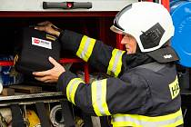 First responder je člověk, který je schopen rychle pomoci raněnému před příjezdem záchranky. V tomto případě to byli proškolení hasiči.
