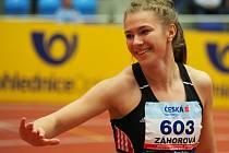Adéla Záhorová je opět dál!