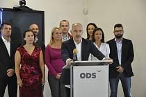 Středeční tisková konference ODS na téma doprava.