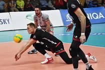 Jihočeši v extralize volejbalistů přivítali Brno.