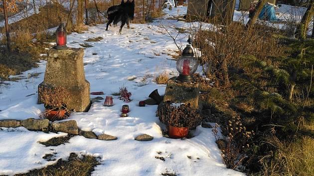 Šest svých kamarádů, kteří se už prohánějí v psím nebi, má pochovaných i chovatelka Lenka Novotná z Jindřichova Hradce.