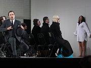 Opera La traviatta od Giuseppe Verdiho na scéně Jihočeského divadla v Českých Budějovicích