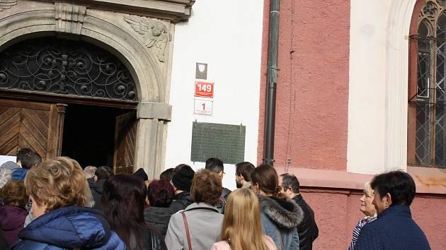 Při Mezinárodním dnu památek si bylo možné v Českých Budějovicích prohlédnout klášter na Piaristickém náměstí nebo věž Železnou pannu.