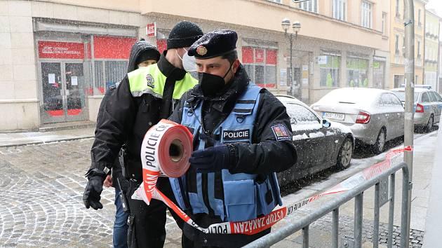 Policie se připravuje na demonstraci v Českých Budějovicích