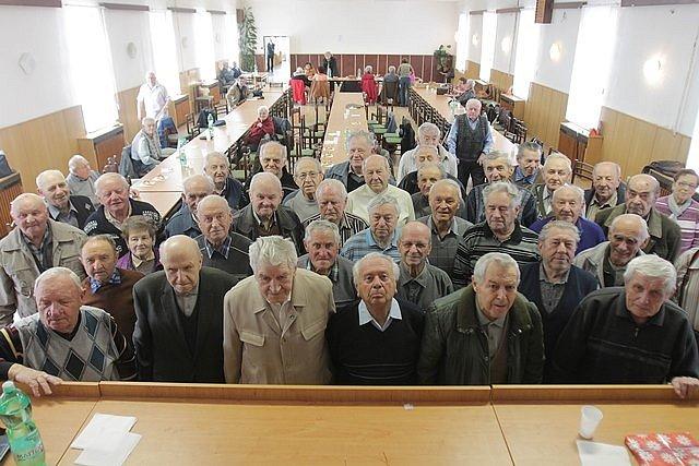Výroční schůze členů Okresního klubu Českého svazu Pomocných technických praporů – vojenských táborů nucených prací.