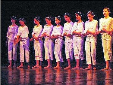 Scénické tance