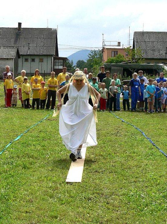 Vítání prázdnin 2009 pro místní děti nachystal na sobotu osadní výbor Světví.