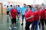 Téměř dvě stovky seniorů změřily své síly na mezinárodních sportovních hrách v Českých Budějovicích.
