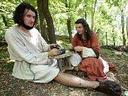 V Netolicích si zkoušeli studenti a vědci raně středověký život