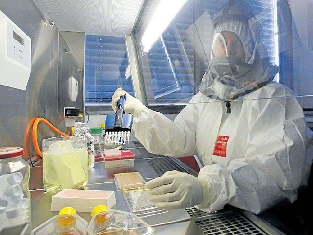 Vědci z Biologického centra v Českých Budějovicích se snaží přelstít nebezpečné viry.