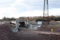 Výstavba D3 na trase Úsilné - Borek.