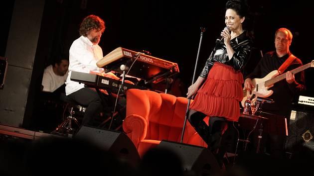 Pondělní koncert Lucie Bílé v DK Metropol.