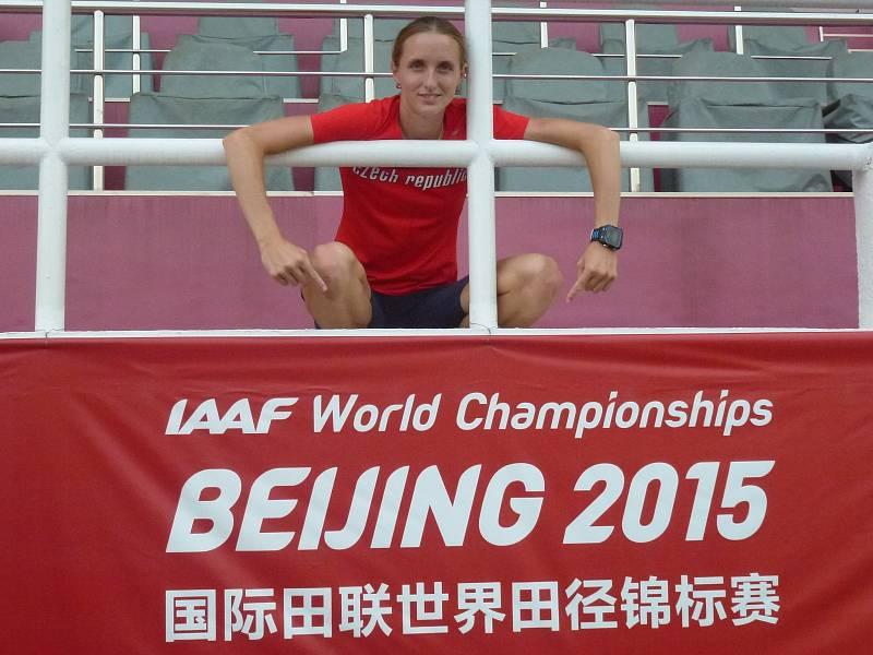 Lucie Sekanová na mistrovství světa v Pekingu