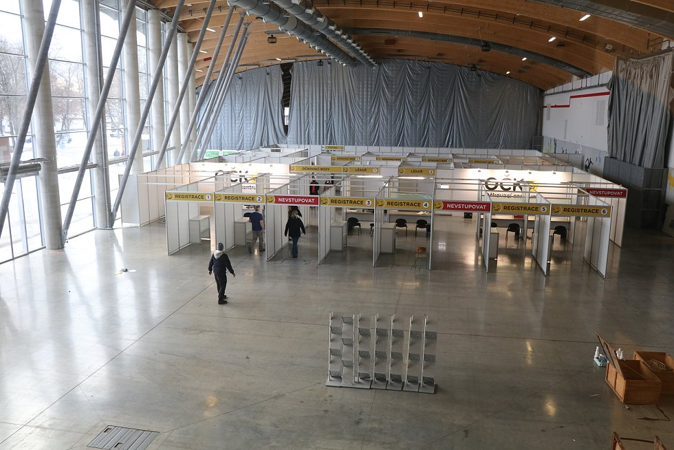 V úterý 19. ledna, přesně ve 12 hodin, zahájí testovací provoz velkokapacitní OČKOcentrum na Výstavišti České Budějovice.