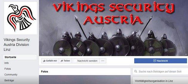 Vikingové zfacebooku.