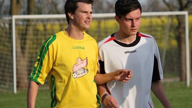 Fotbalisté Zborova zahájili jaro ve čtvrté okresní třídě výhrou 2:1 na hřišti Dolního Bukovska B.