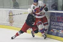 Hokejisté Hc David servis ve II. lize porazili na domácím ledě Nymburk 5:3.