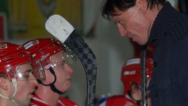 Aleš Totter, nový kouč juniorů HC ČB, má ve čtvrtek podepsat smlouvu s HC ČB.