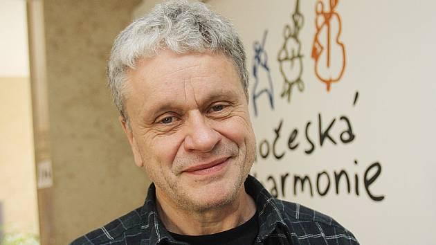 Otakar Svoboda, ředitel Jihočeské filharmonie.