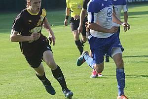 Snímek je z domácího utkání Hluboké proti Nové Včelnici, které skončilo výhrou domácích 3:1