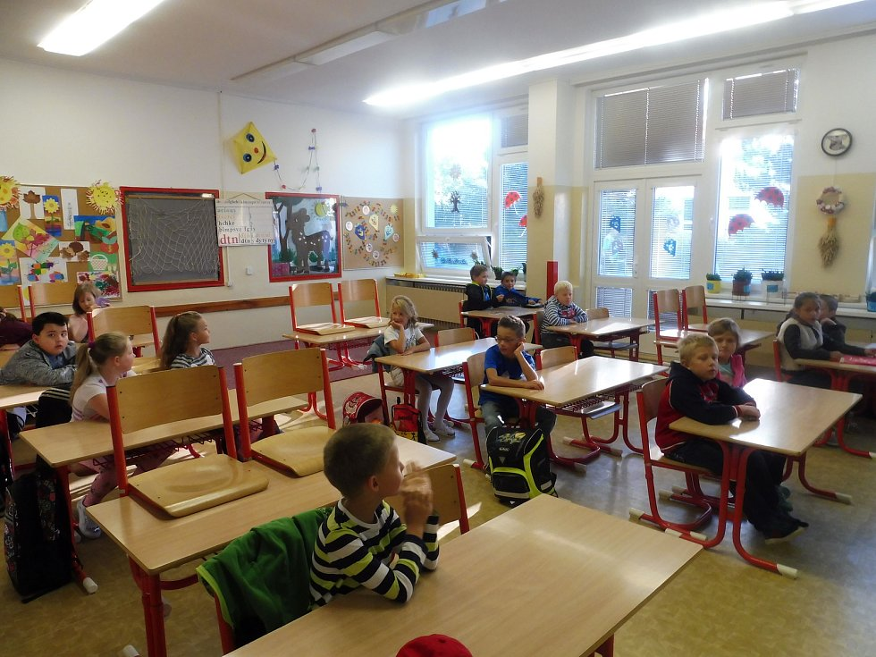 První školní den, ZŠ Máj I