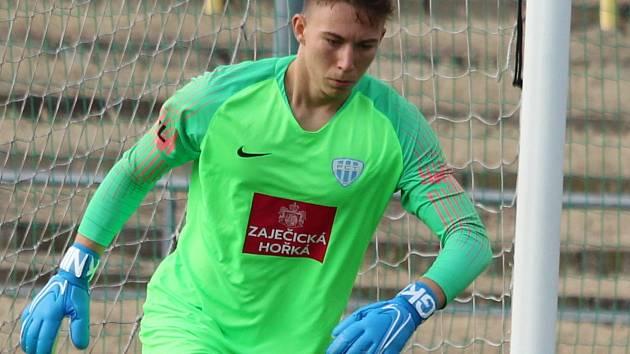 Na snímku táborský Šimon Pecháček