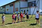 Jestli budou celé prázdniny povedené stejně jako jejich sobotní vítání, mají se děti z Horní Stropnice na co těšit.