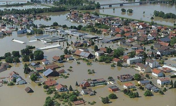 Fischerdorf pod vodou.