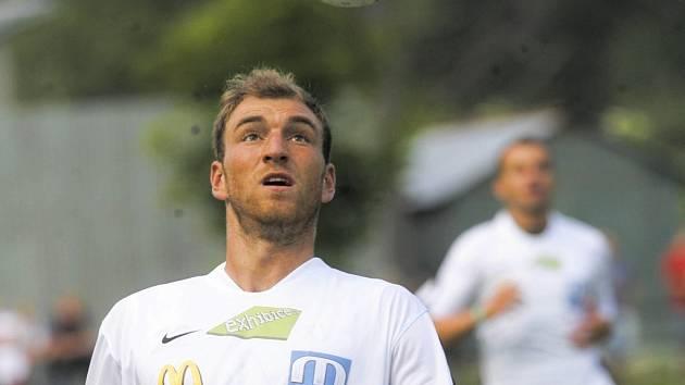 Třiadvacetiletý Martin Latka, exhlubocký stoper pražské Slavie.