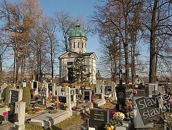 Hrobka rodiny Hardmuthovy v Českých Budějovicích.