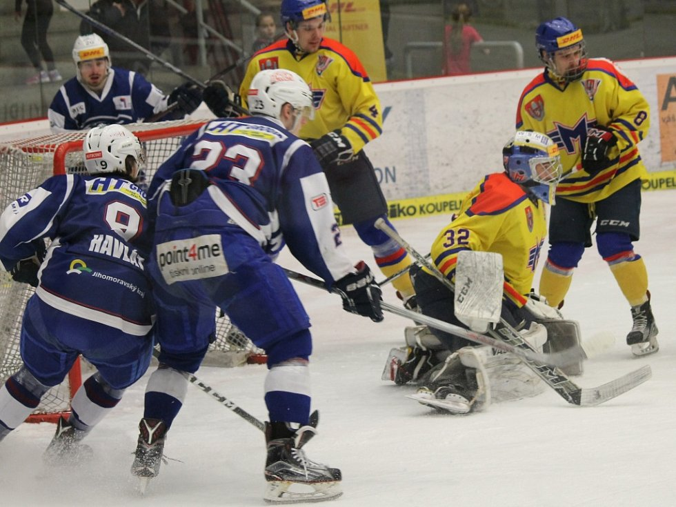 Junioři Motoru hostili v extralize Brno, prohráli 1:3.