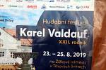 Žižkovo náměstí v Trhových Svinech zaplnily od pátku do neděle davy lidí, aby si poslechly Festival dechových hudeb Karla Valdaufa 2019.