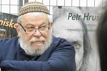 Karol Sidon četl v Českých Budějovicích svou povídku, kterou napsal pod pseudonymem Chaim Cigan do knihy Praha noir.