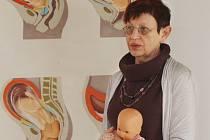 Prezidentka Unie porodních asistentek Ivana Königsmarková.