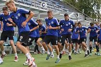 V úterý fotbalisté Dynama zahájili letní přípravu, už ve čtvrtek je v Praze čeká první přípravný test pro Spartě.