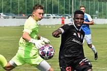 Ubong Ekpai byl mužem přípravného zápasu fotbalistů prvoligového Dynama s druholigovým Táborskem (4:0): druhý gól vstřelil sám, na třetí vzápětí Fortune Basseyovi ideálně nahrál.