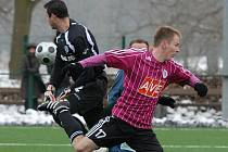 Martin Jasanský z této šance brankáře Meiera nepřekonal, už ve druhé minutě se mu to ale povedlo. Jeho rychlý gól ale stačil nakonec v utkání III. ligy Dynamo B - Česká Lípa jen na bod.